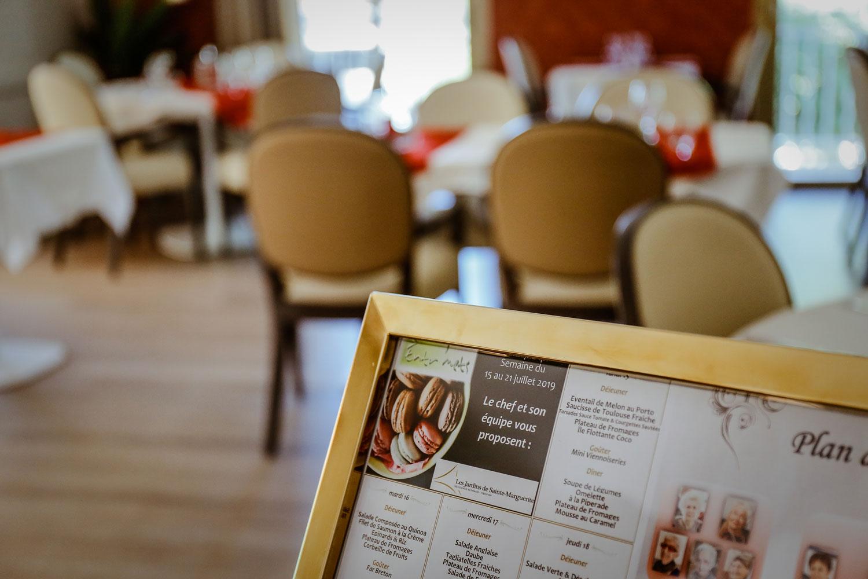 restaurant maison de retraite médifar les jardins de sainte marguerit